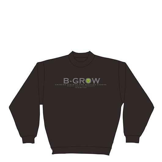 チームファイブ トレーナー 「B-GROW」【BTS-0107】