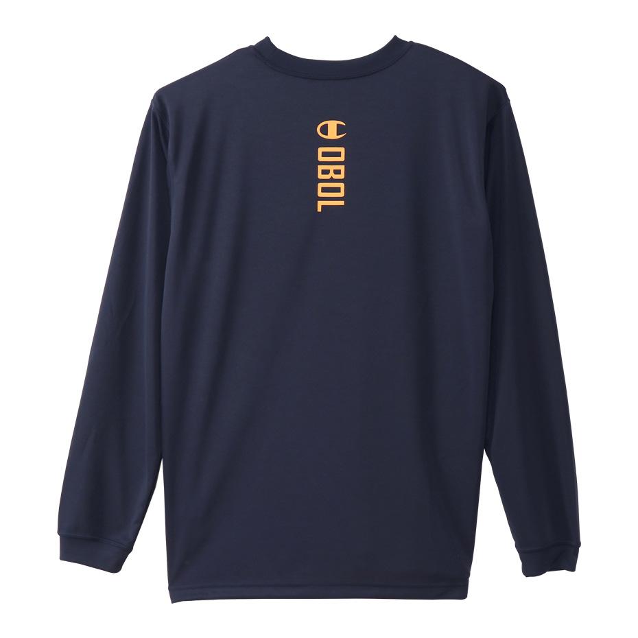 チャンピオン プラクティスロングスリーブTシャツ【C3-SB412 370】