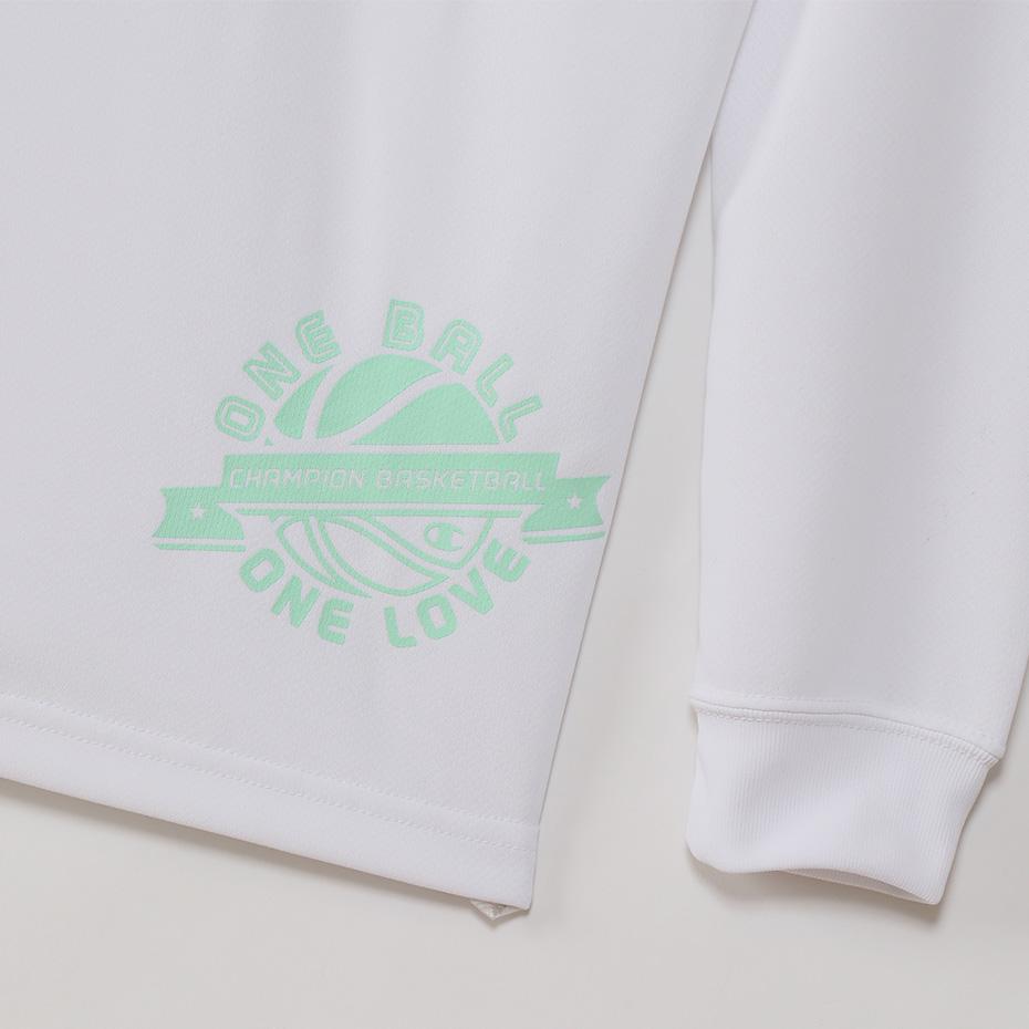 チャンピオン キッズ プラクティスロングスリーブTシャツ【CK-SB419 010】
