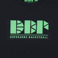 DEFENDERS【DEF LOGO Tシャツ】 ブラック×グリーン