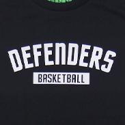 DEFENDERS Tシャツ ブラック×ホワイト