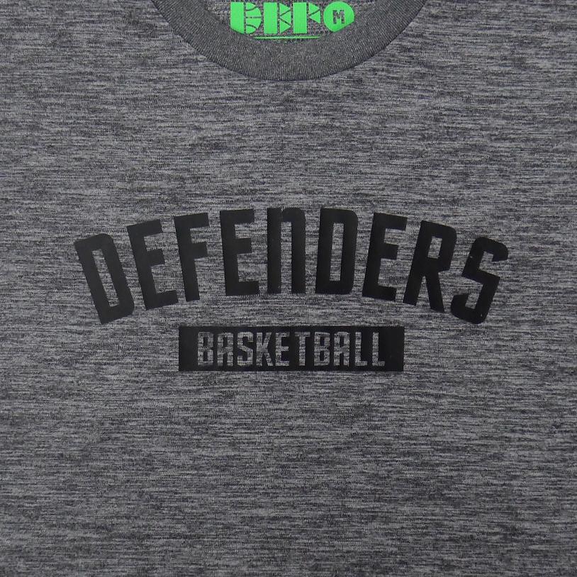 DEFENDERS Tシャツ ヘザーチャコール