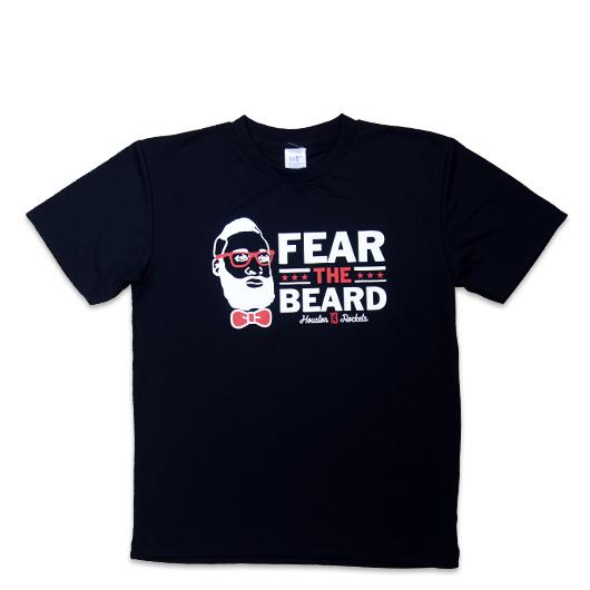 FEAR THE BEARD TEE BK