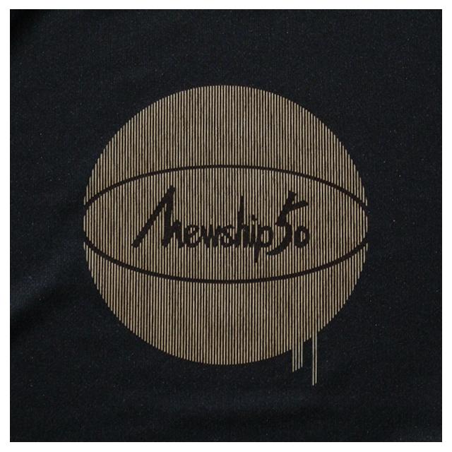 Mewship50【G.BALL-stripe】L/S PL (BK×BG)