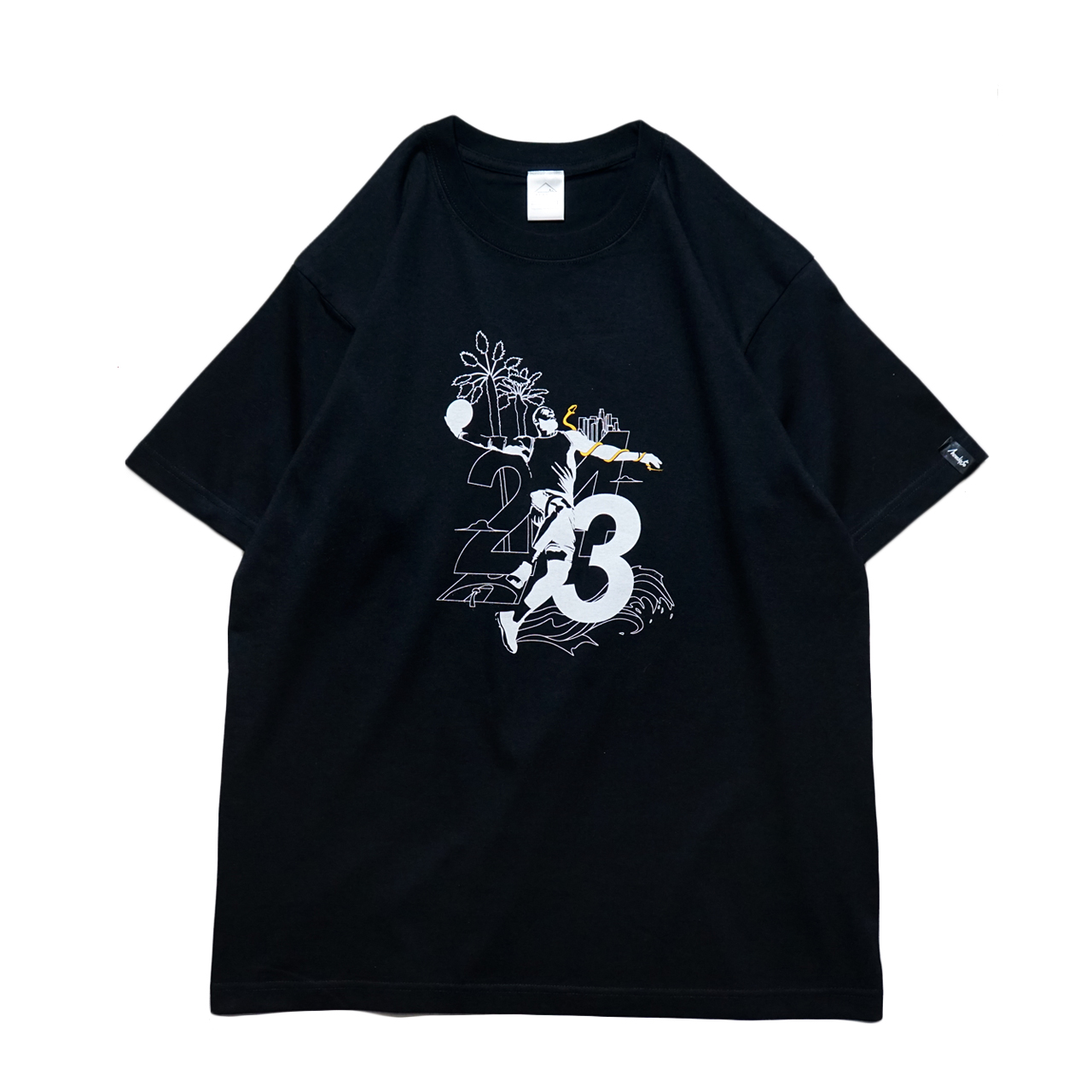 Mewship50 Los Angeles S/S CT (BK)
