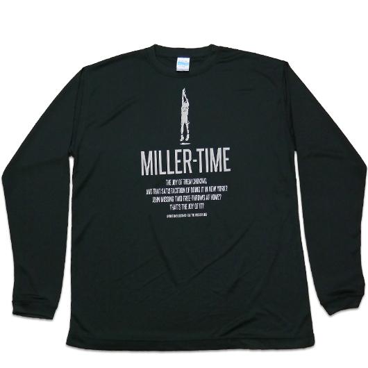 BBオリジナル【MILLER TIME】ロンT
