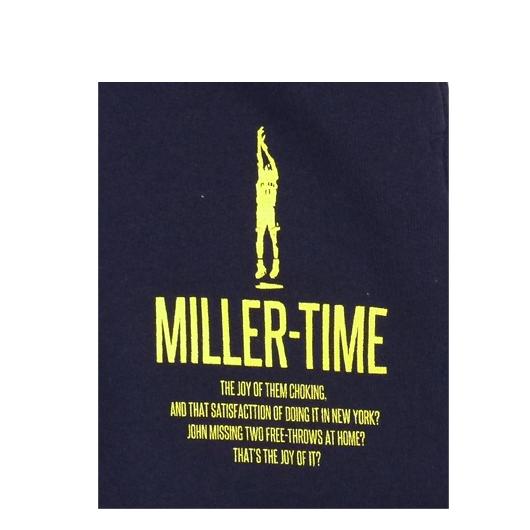 BBオリジナル【MILLER TIME】スウェットパンツ NV