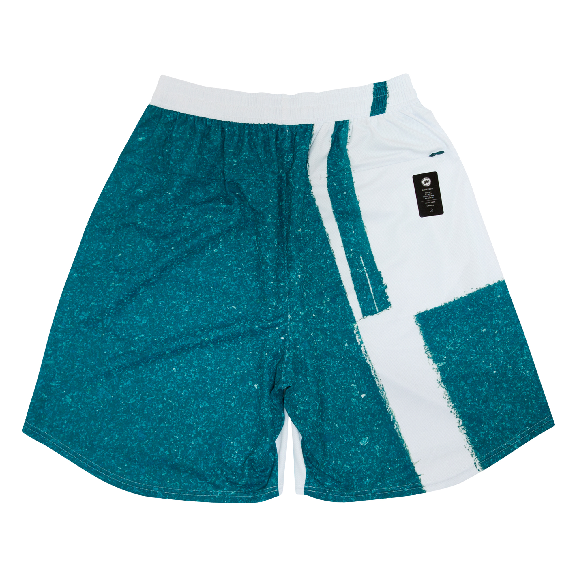 ballaholic【Playground Zip Shorts】