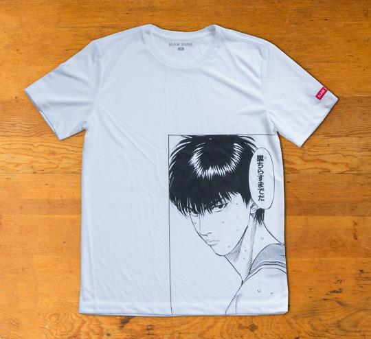 SLAM DUNK Tシャツ【流川】スリム