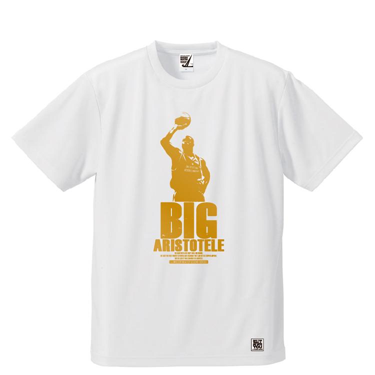 BBオリジナル【BIG ARISTOTELE】Tシャツ WH×GD