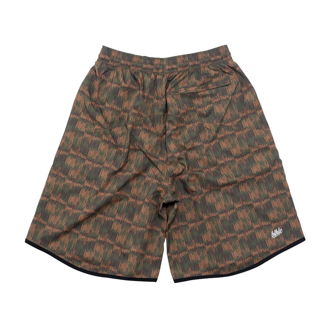 Lafayette x ballaholic NYC Camo Zip Shorts