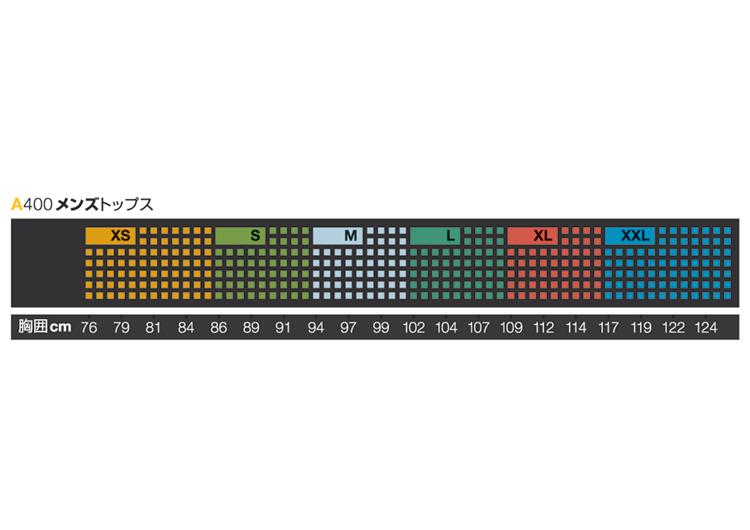 SKINS A400 メンズロングスリーブトップ【B40001005】