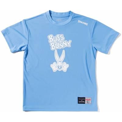 スポルディング Tシャツ BUGS BUNNY【SMT171300 SAX】