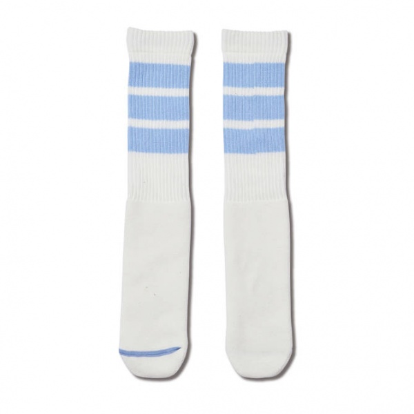 AKTR MONSTER SOCKS WHITExL-BLUE