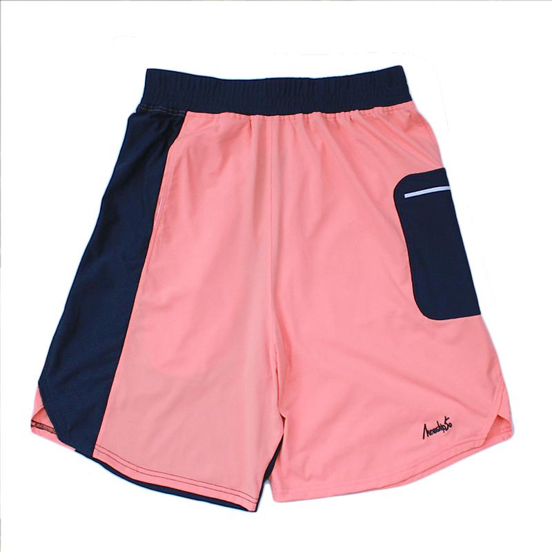 Mewship50【LOGO street shorts】(S.Pink×Navy)