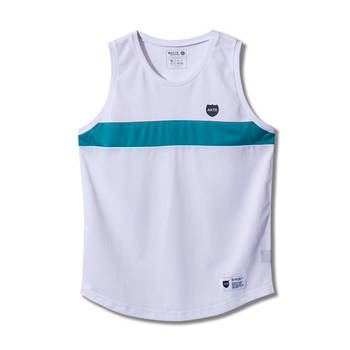 BOOTLEG COMBINATION TANK WHITE