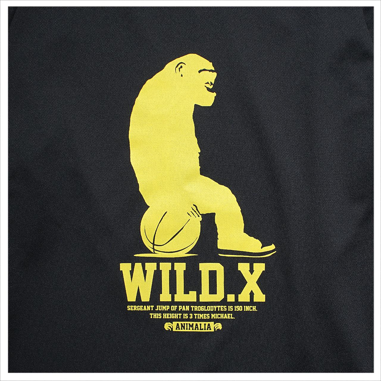 MEWSHIP WILD.X 21 L/S PL <Black×Yellow>