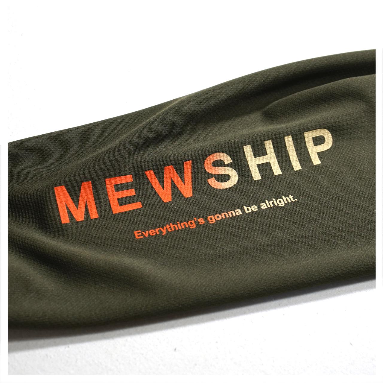MEWSHIP WILD.X 21 L/S PL <J.Green×Orange>